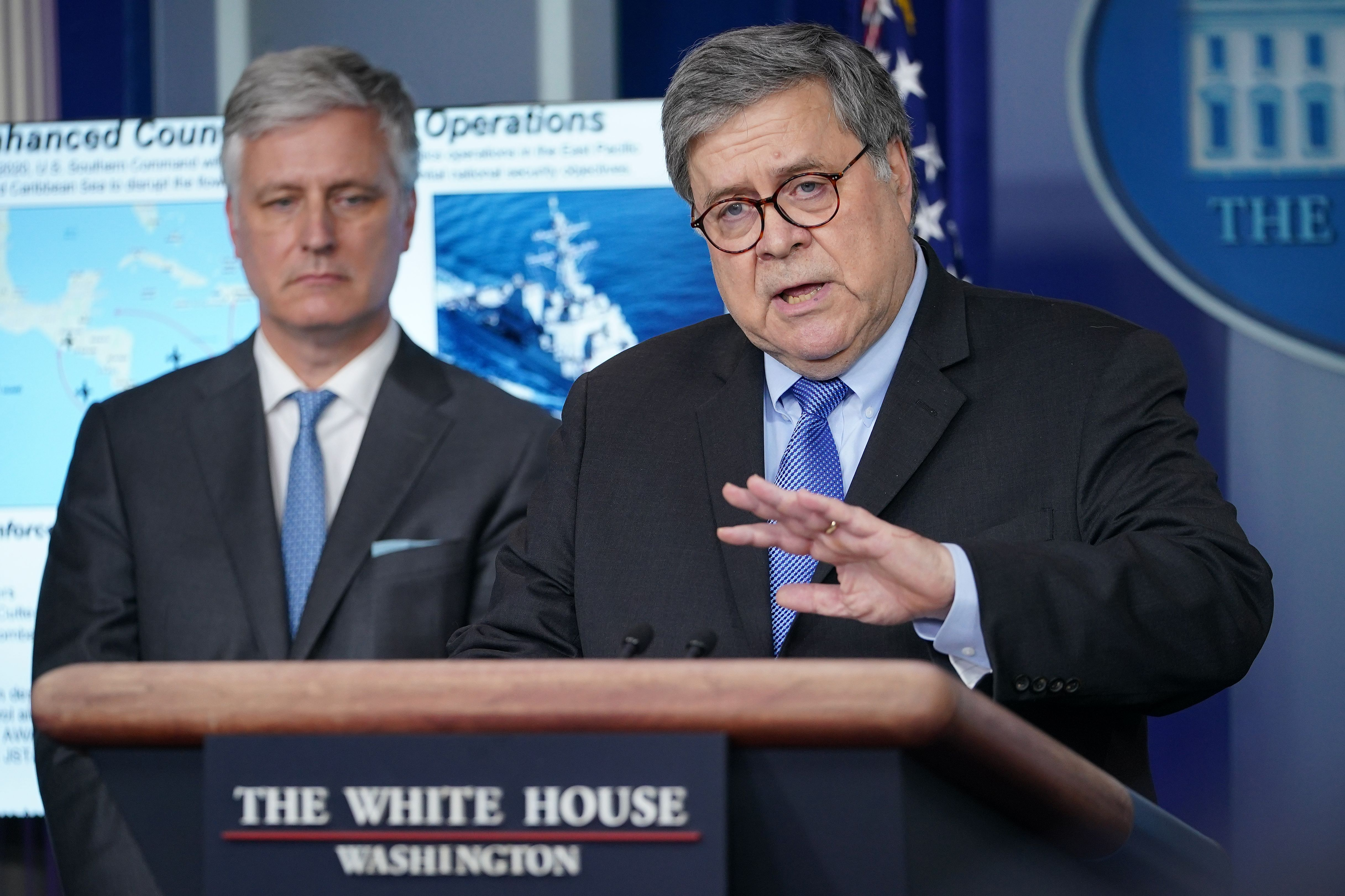 Barr orders broadened use of home confinement as coronavirus hits prisons