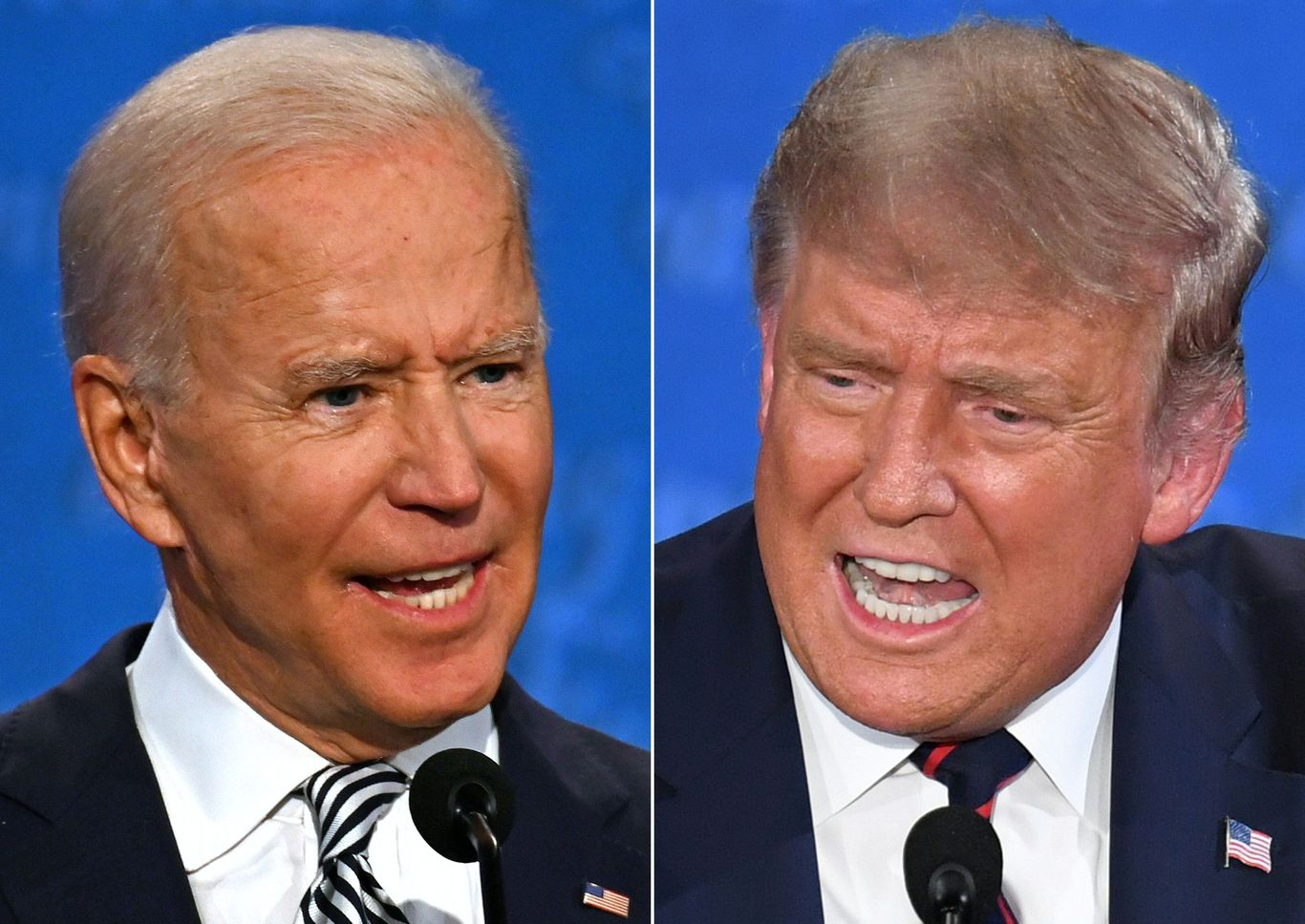 Polls: Biden's lead over Trump extends to double digits with 30 days until election thumbnail