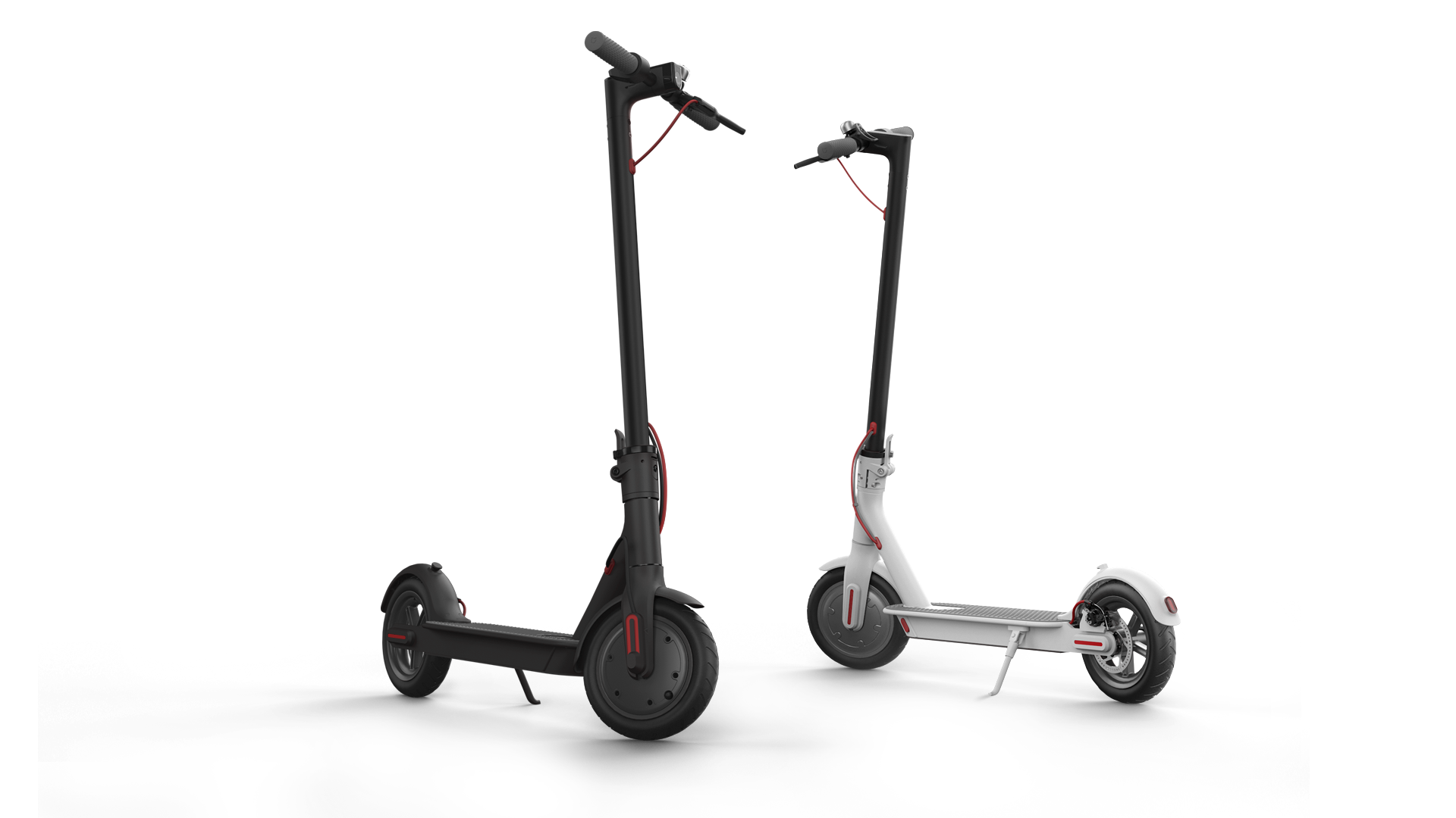 Photo of electric scooters