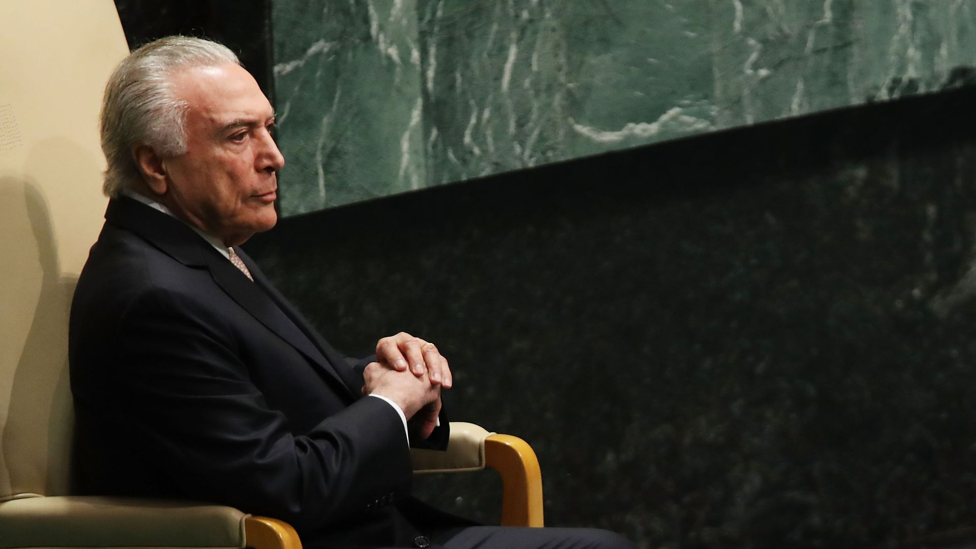 Brazilian President Michel Temer. Photo: Spencer Platt/Getty Images