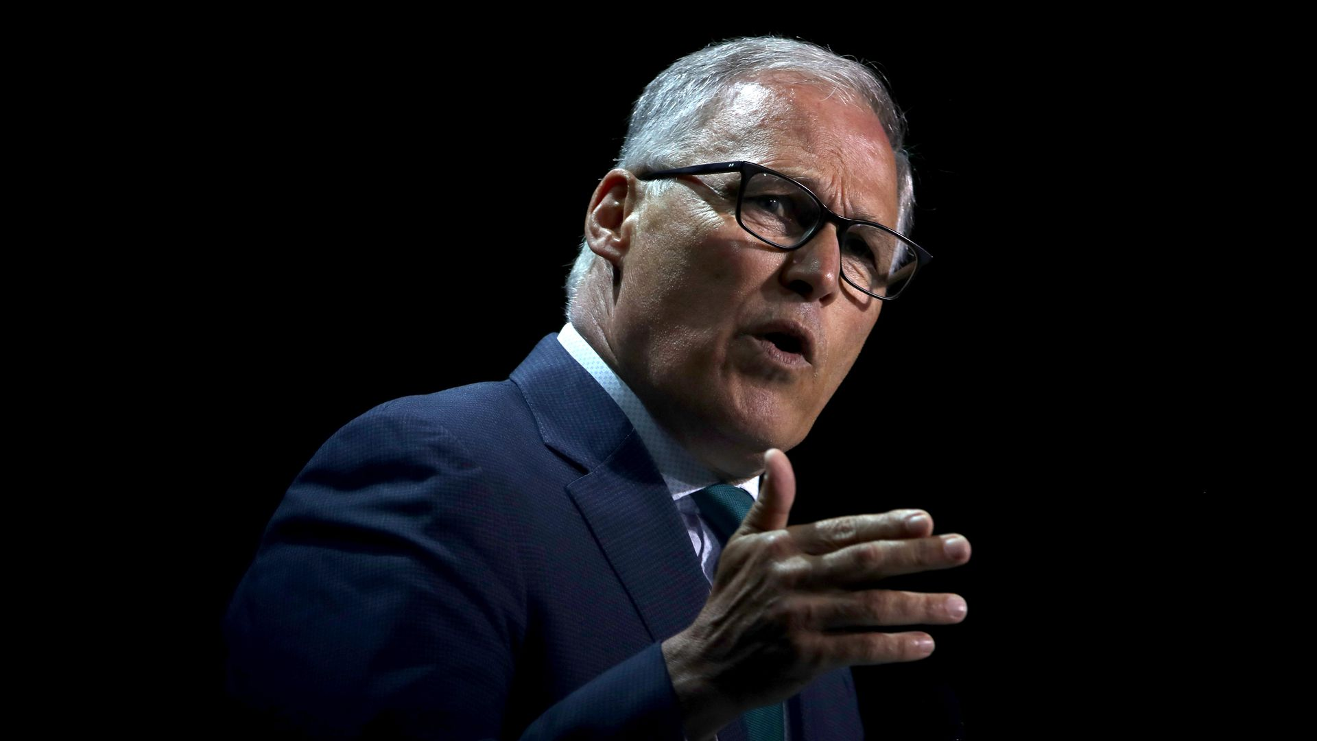 Washington Governor and presidential candidate Jay Inslee