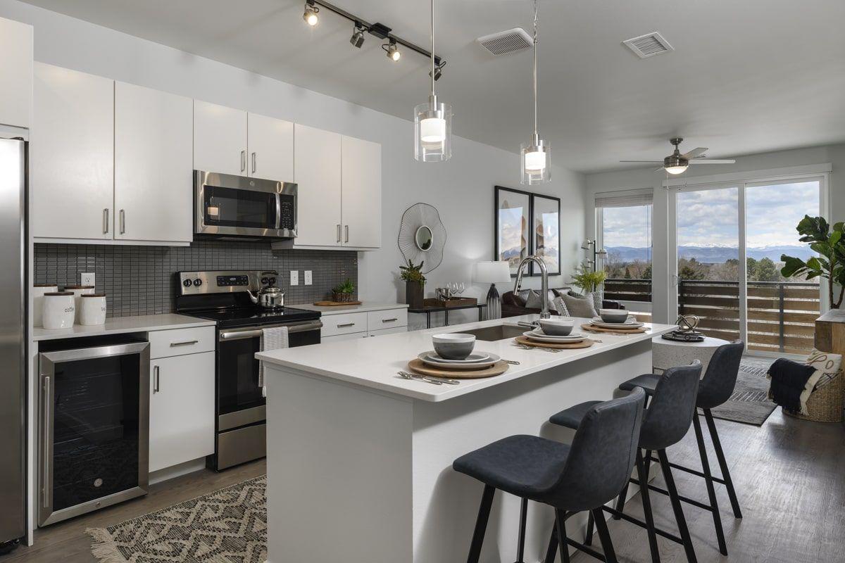 Deco Apartments kitchen
