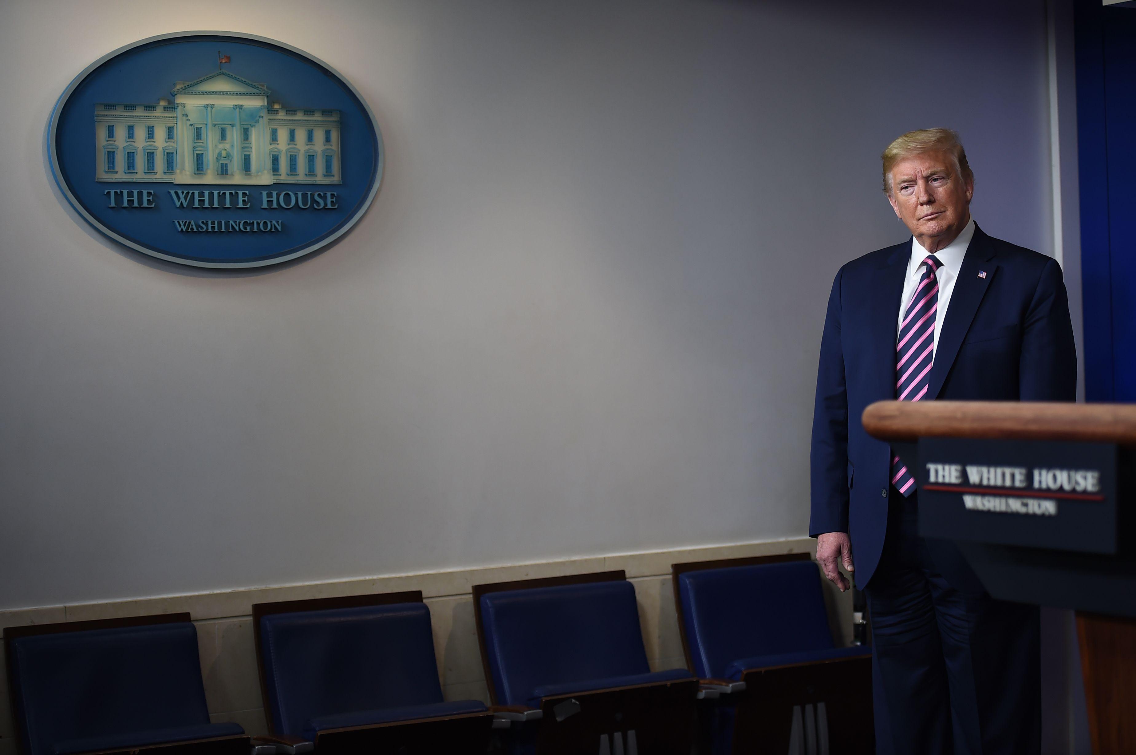 Trump Plans to Stop Daily Coronavirus Briefings