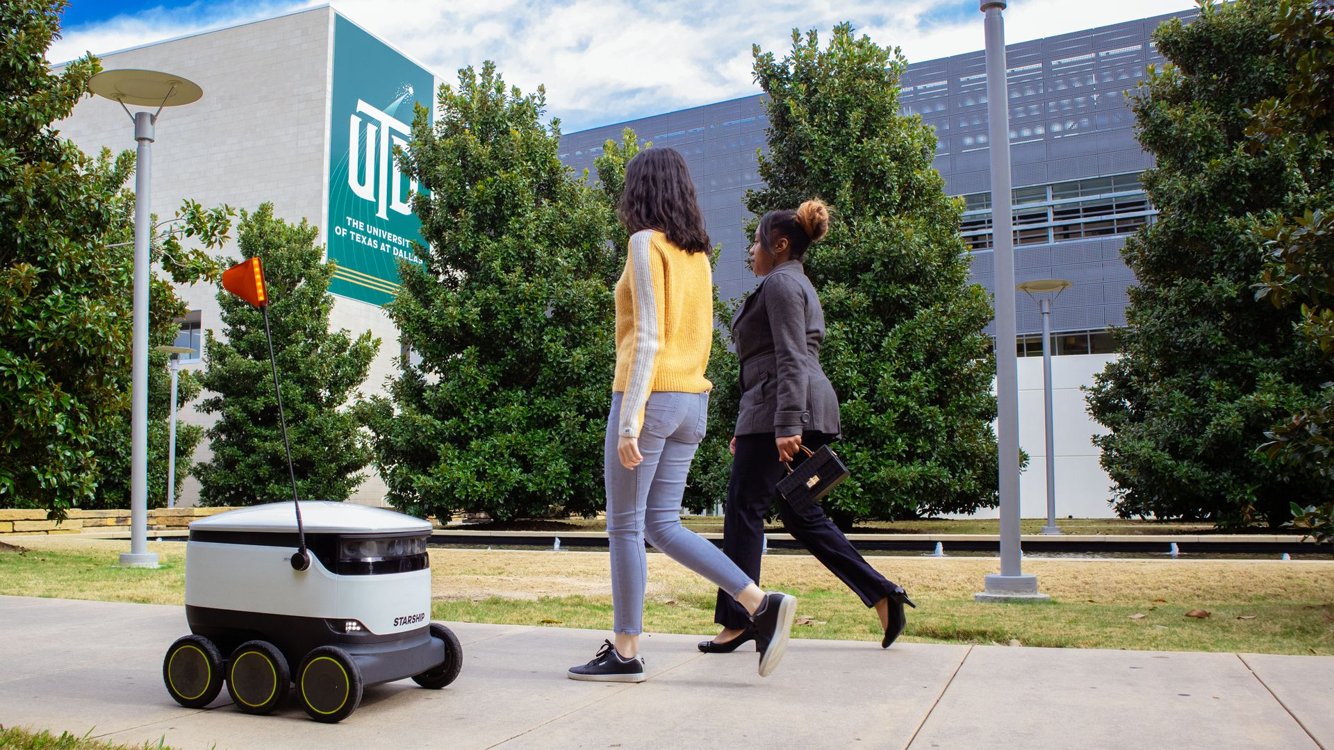 Sidewalk robots get legal rights as