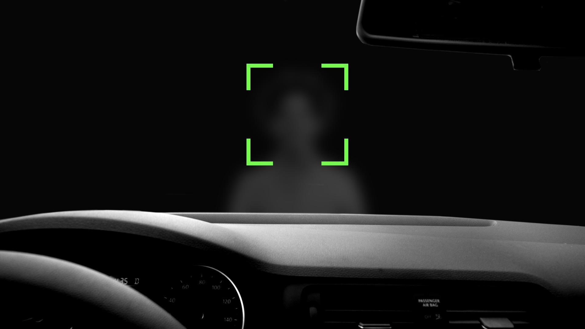 car identifying waiting passenger