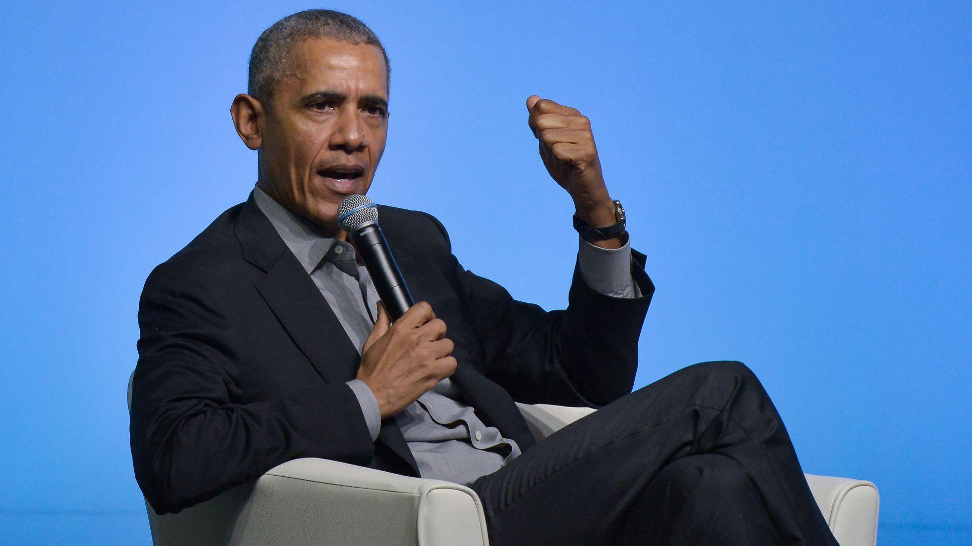 Barack Obama speaking in Kuala Lumpur, Malaysia
