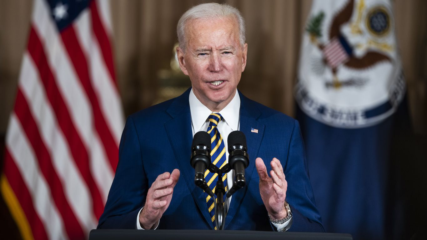 """President Biden's first foreign policy address: """"America is back"""" thumbnail"""
