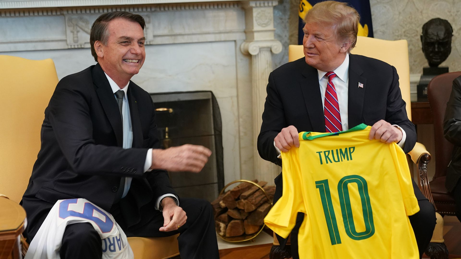 Trump suggests Brazil could become NATO member