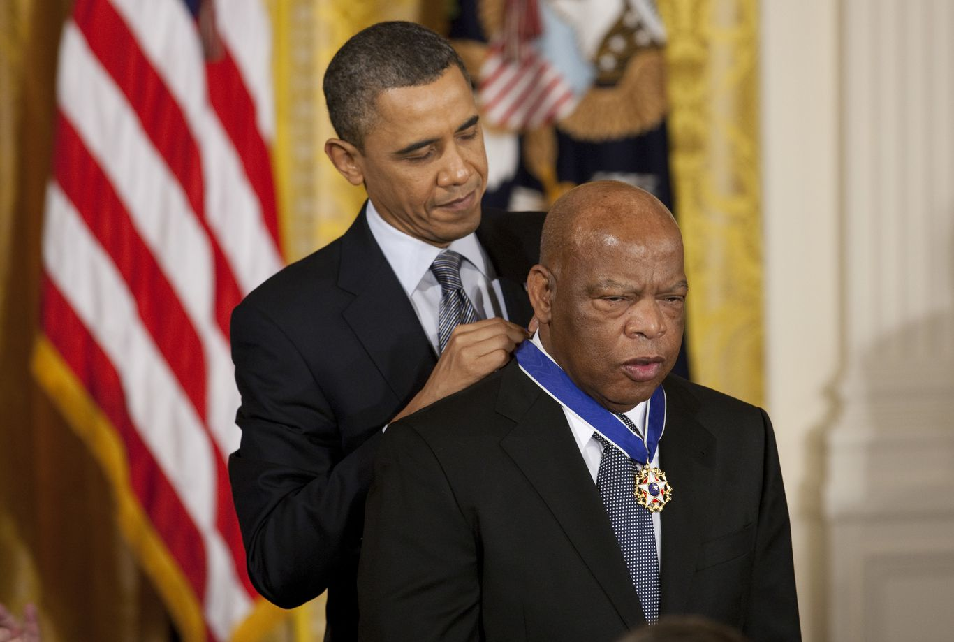 """Civil rights icon John Lewis remembered as """"one of the greatest heroes of American history"""" thumbnail"""