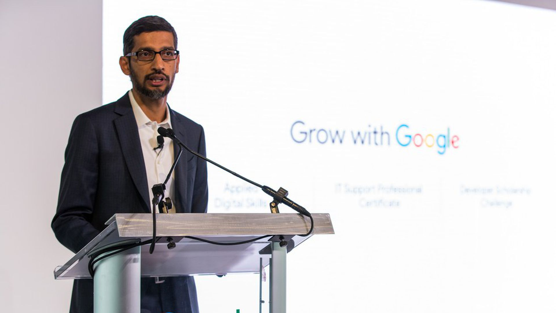 Google announces $1 billion job training and education program