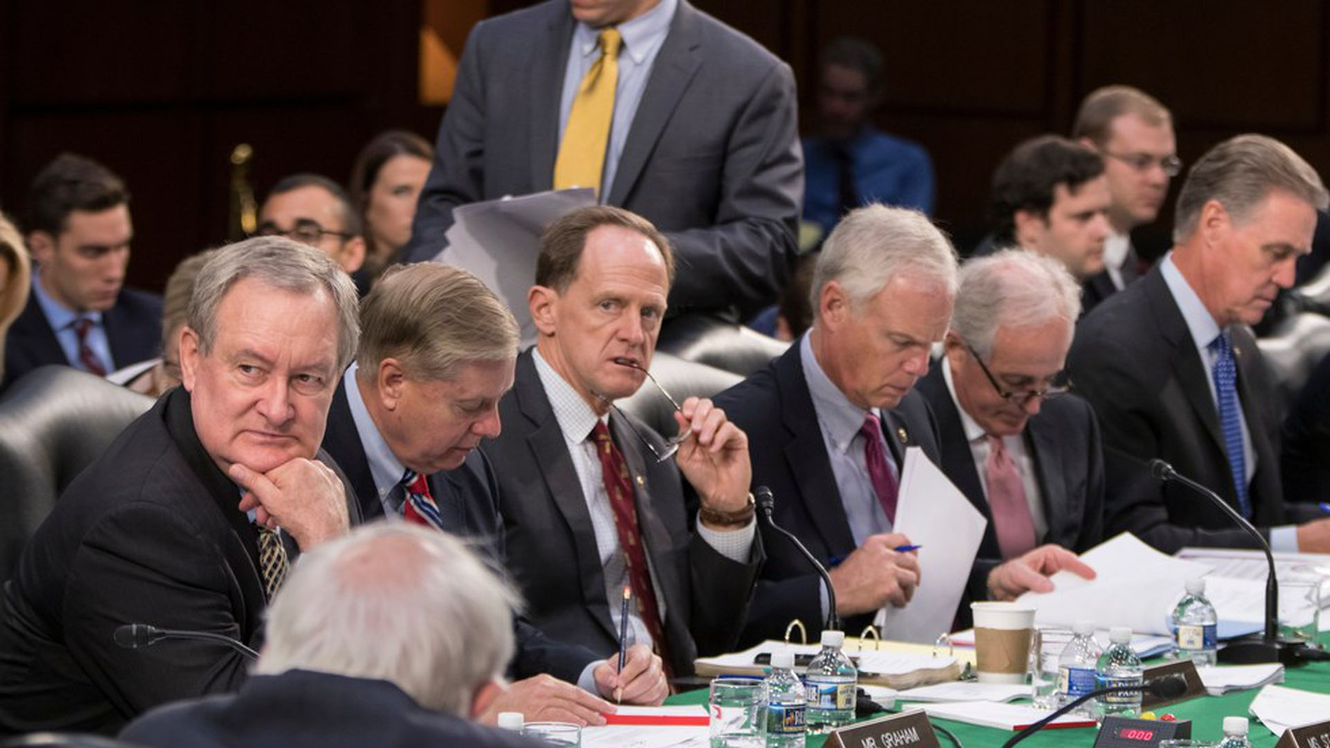 Senate Budget Committee votes 12-11 to advance tax bill ...