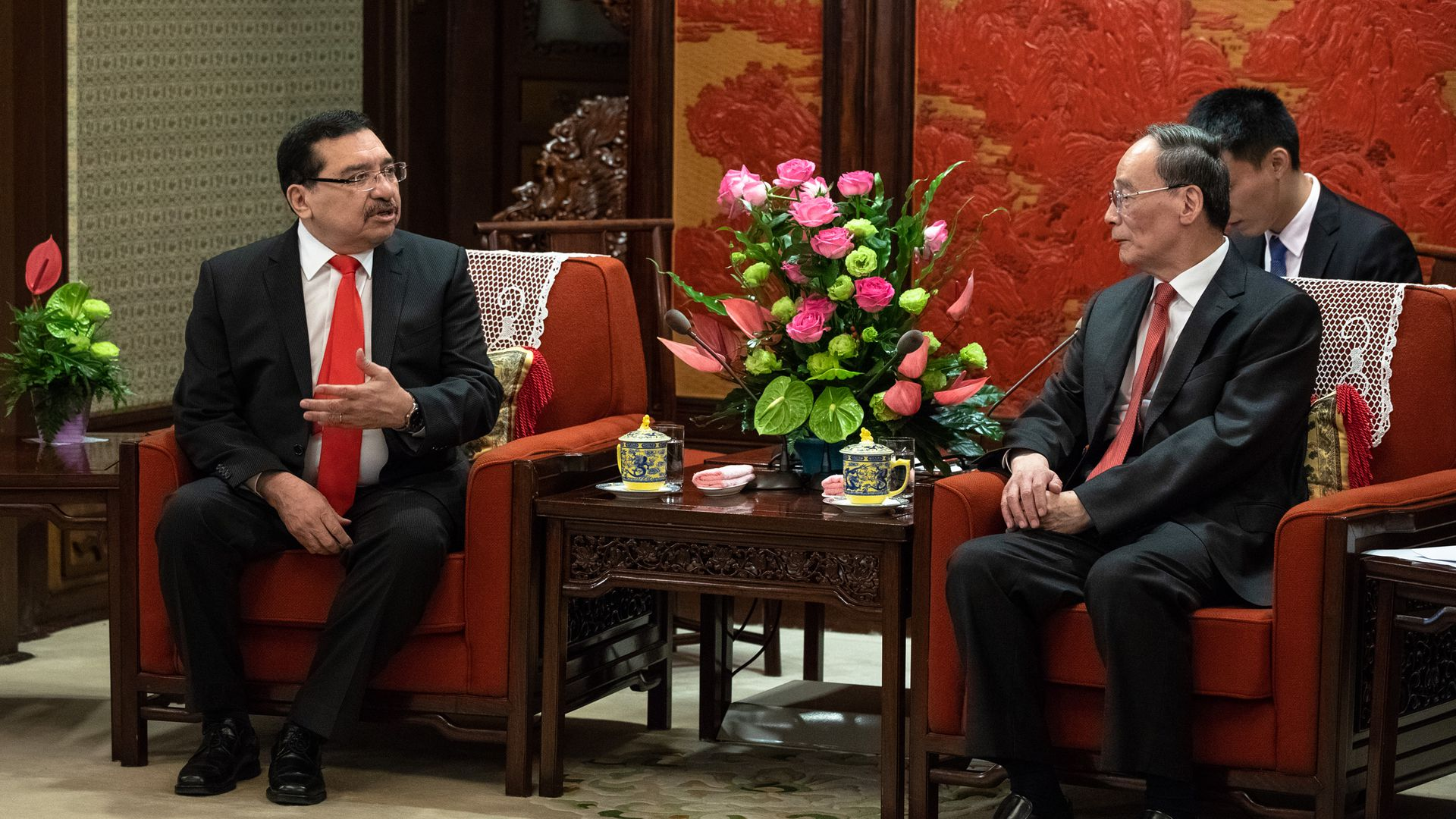 Chinese Vice President and Salvadorian politician.