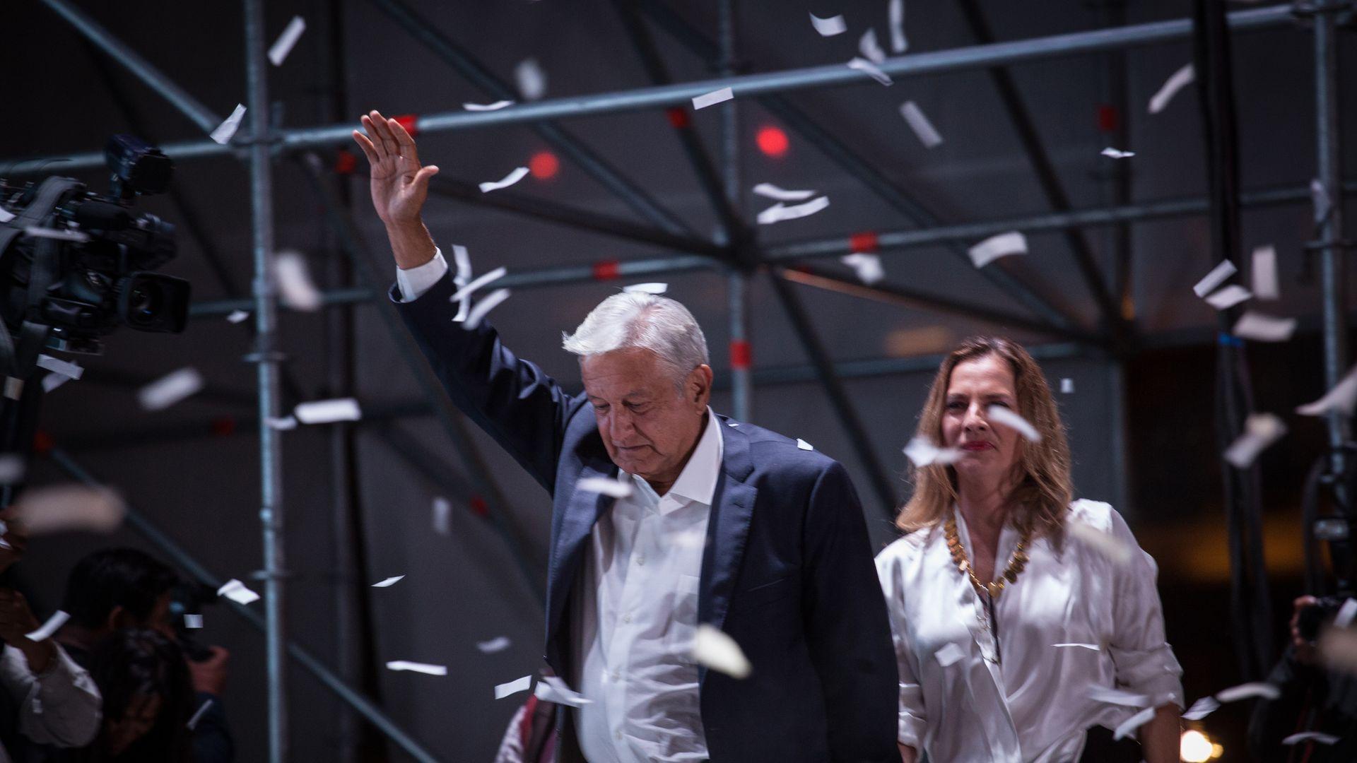 Mexican President-elect Lopez Obrador