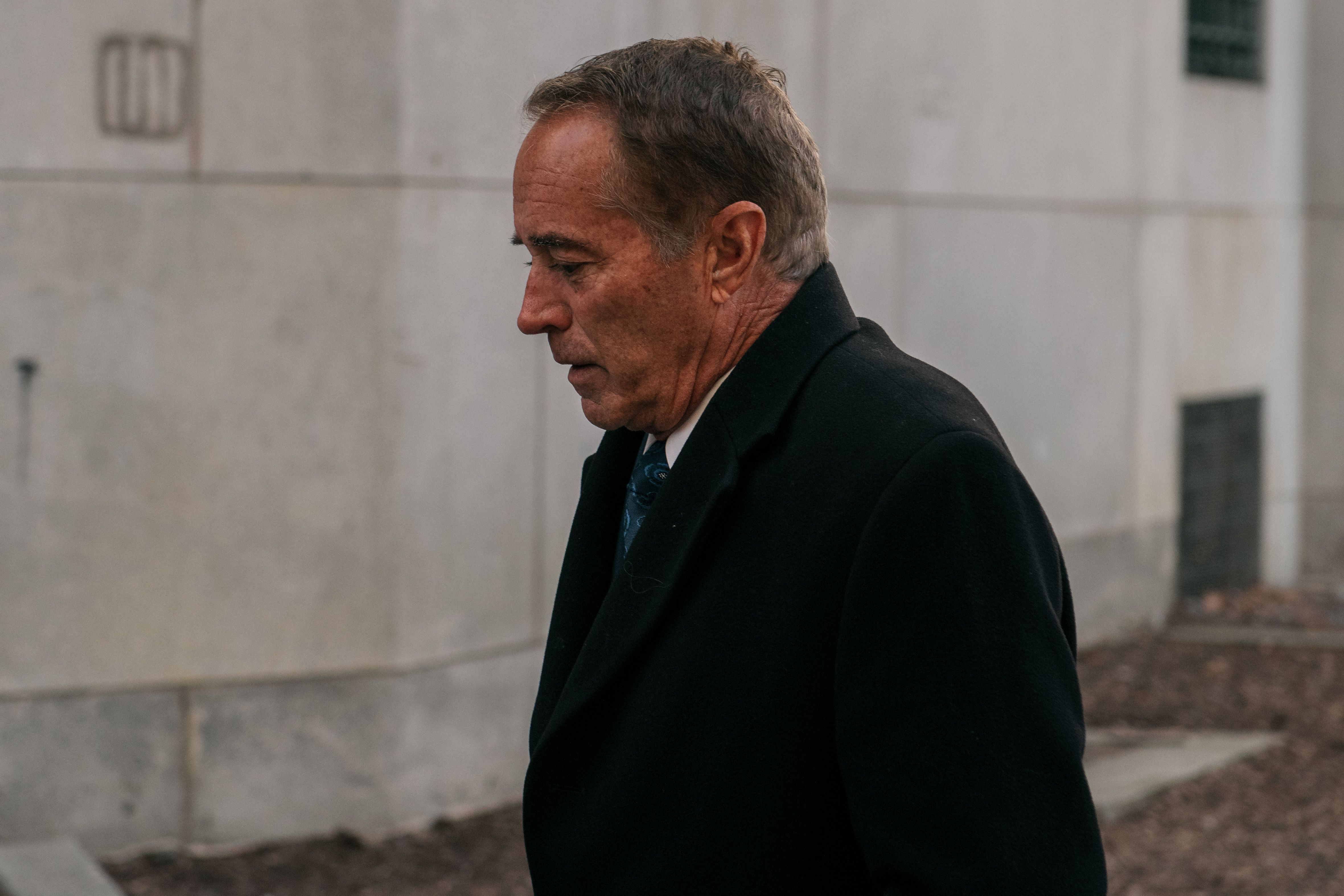 Former GOP Rep. Chris Collins sentenced to 26 months in insider trading case