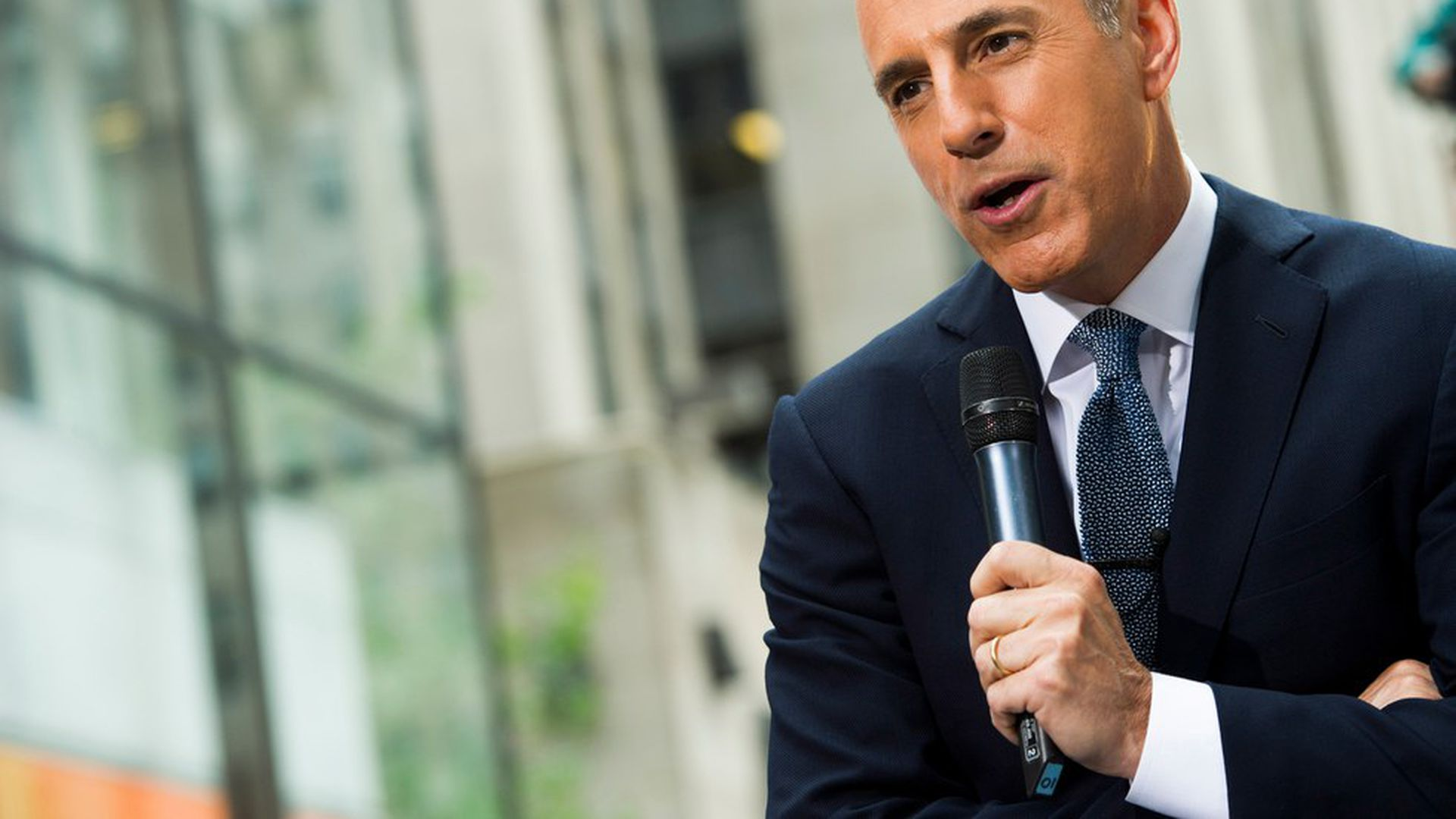 The fastmoving national reckoning over sexual harassment in the workplace toppled another television news star on Wednesday when NBC fired Matt Lauer the