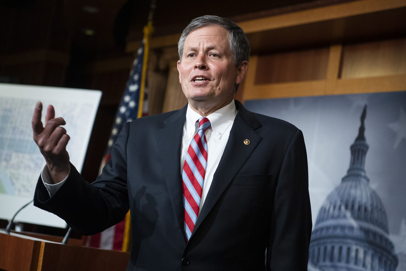 GOP Sen. Steve Daines wins re-election in Montana, AP projects thumbnail
