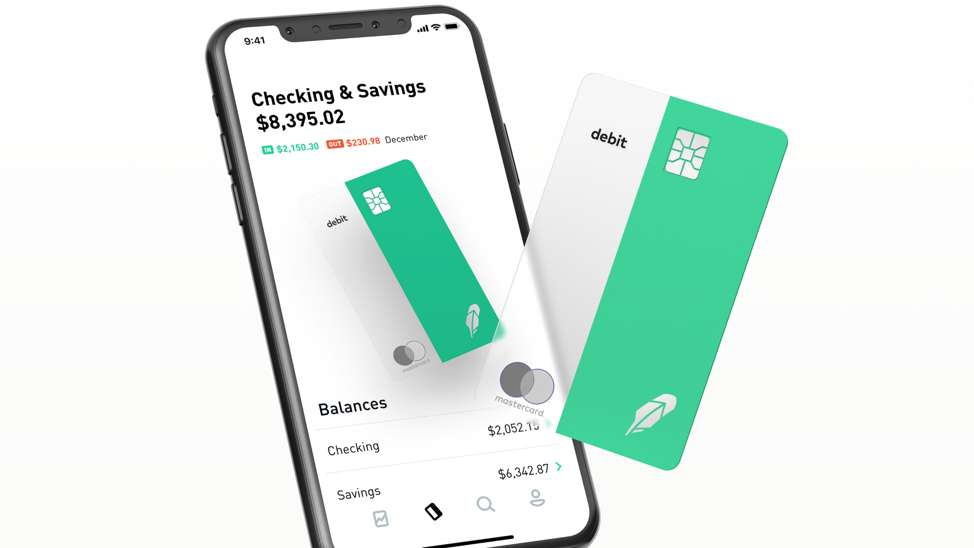 Robinhood debit card