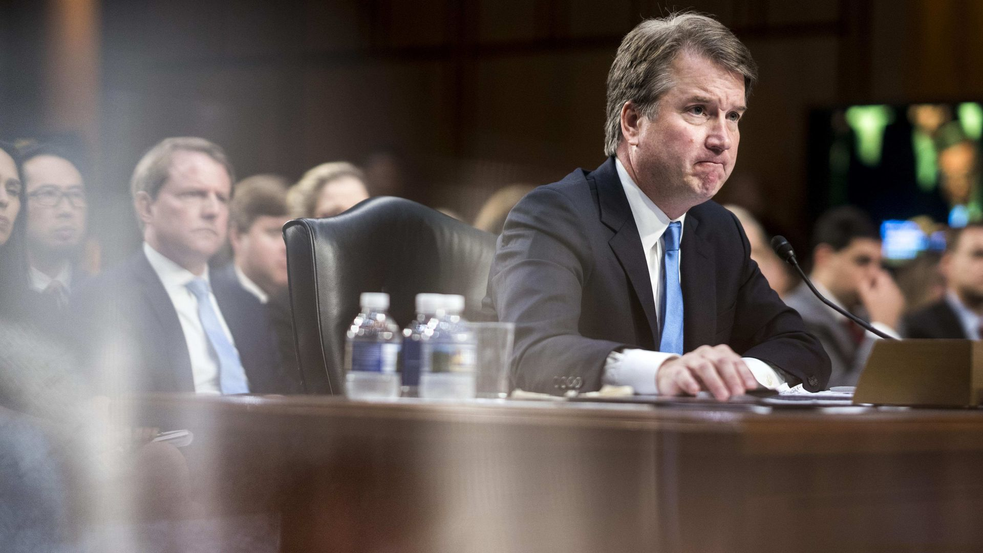 Supreme Court nominee Brett Kavanaugh during his confirmation hearing