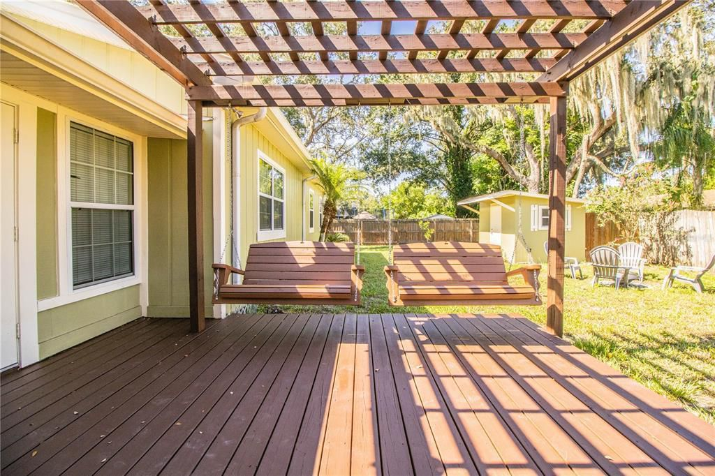 4620 S. Gary Ave. deck