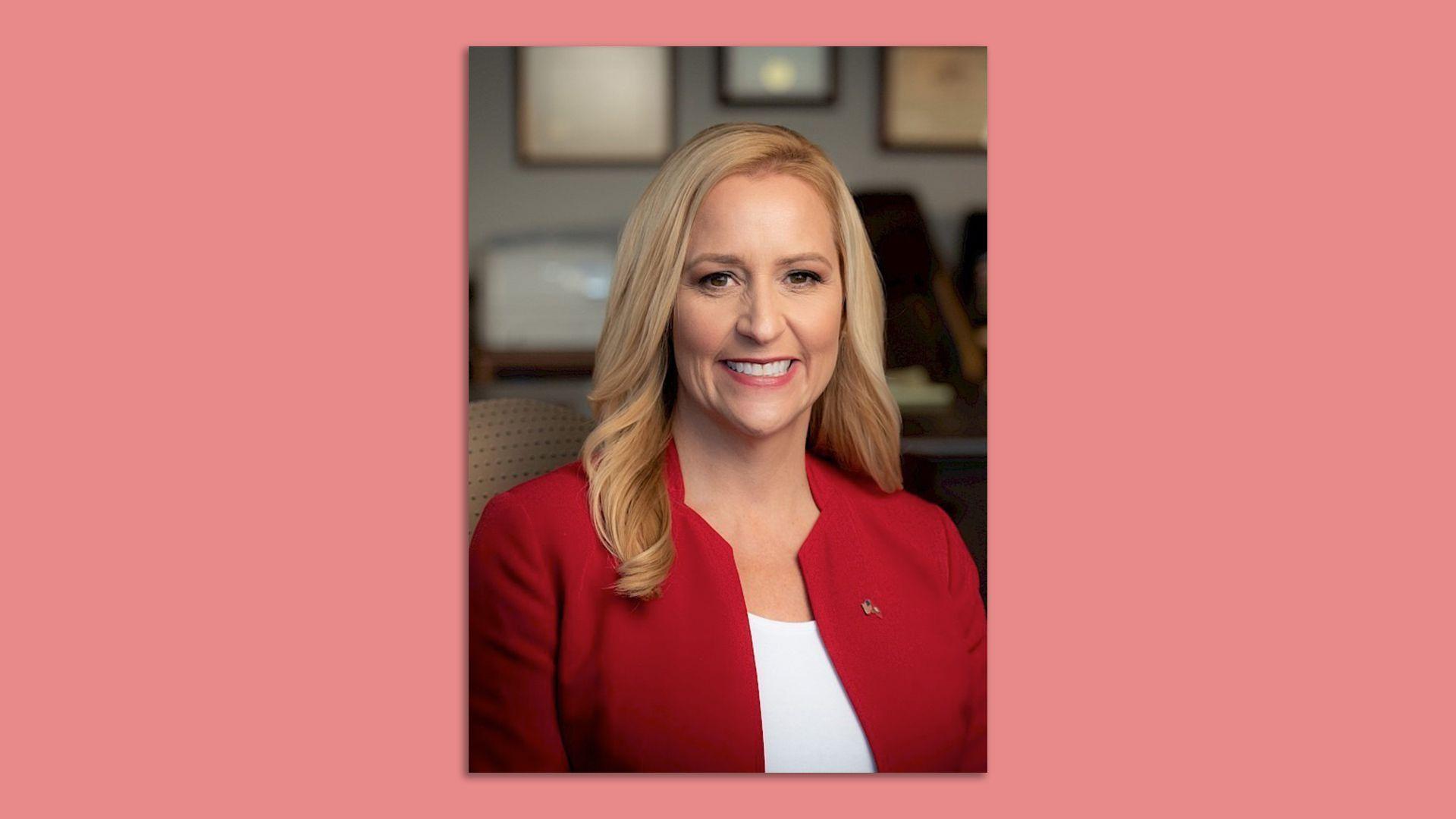 A headshot of Arkansas Attorney General Leslie Rutledge