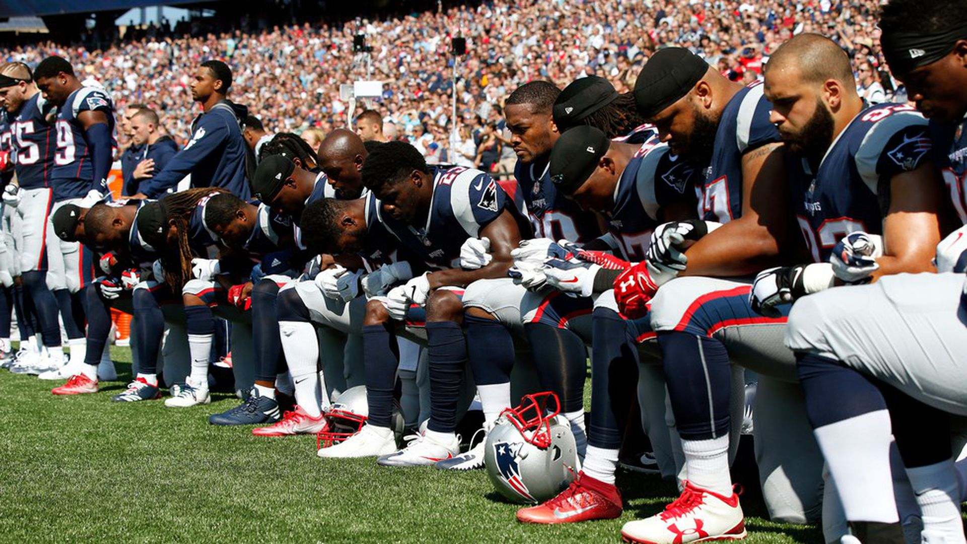 The NFL's day of protest
