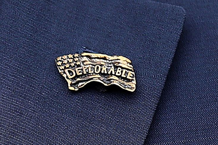 Deplorable pin