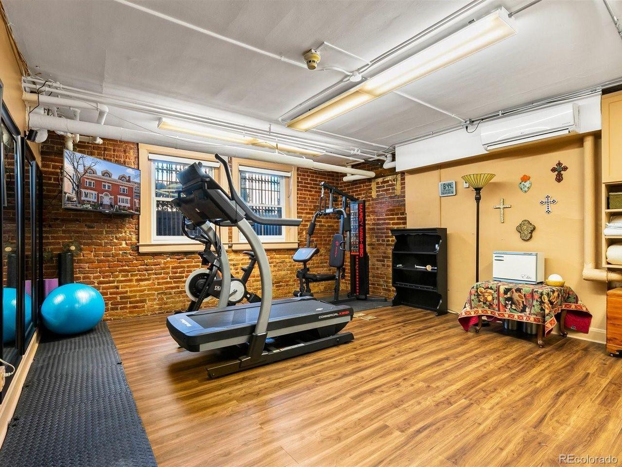 1350 N. Logan St home gym