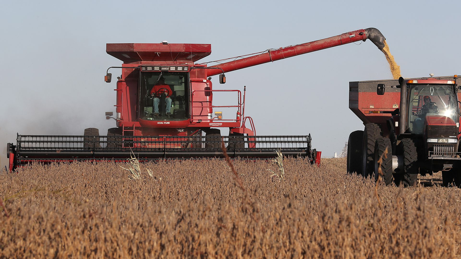 Farmer in Iowa