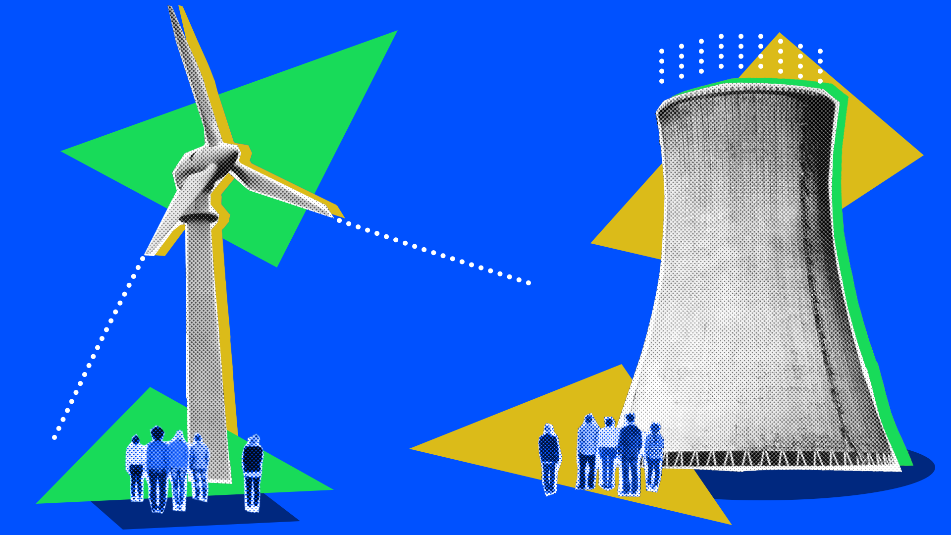 Wind power vs. nuclear power