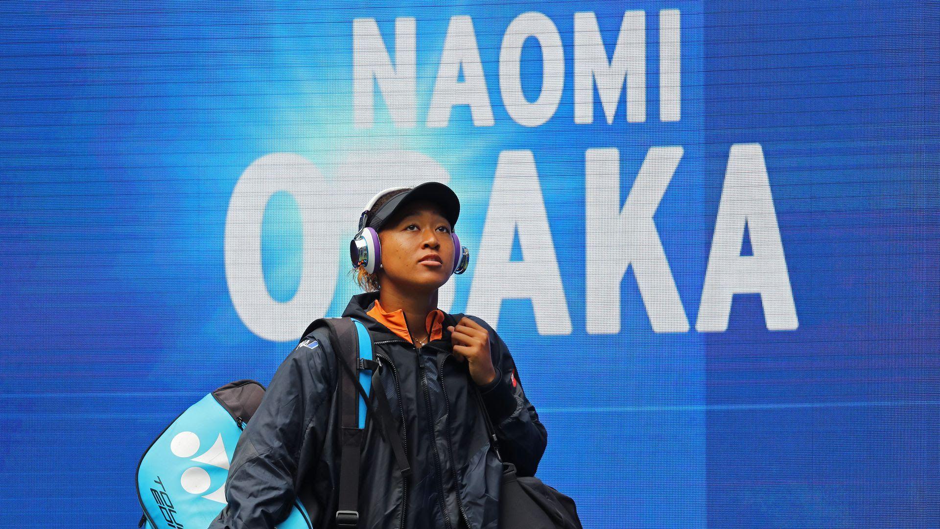 Tennis player Naomi Osaka