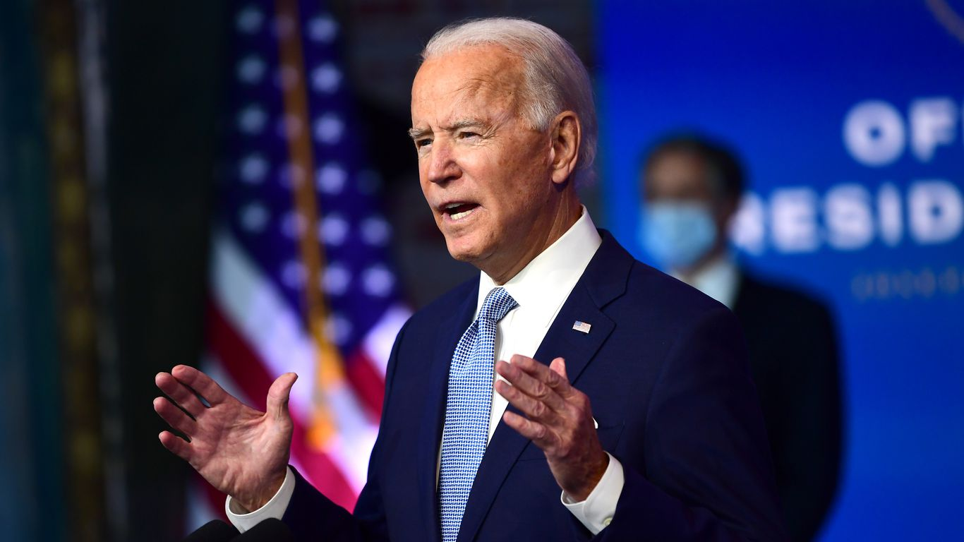 Trump gives Biden access to presidential intelligence briefings