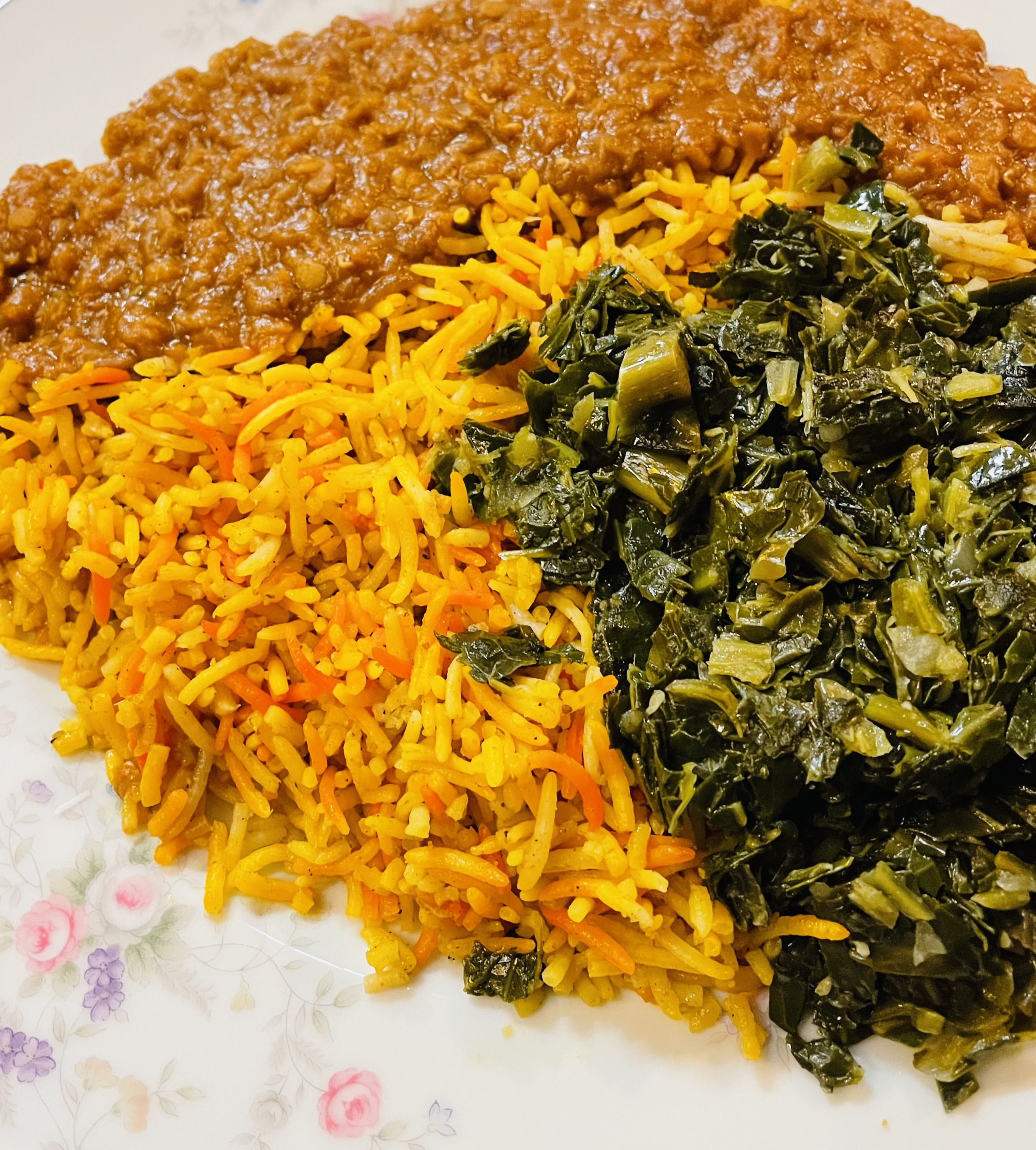 picture of a plate from Gursha Ethiopian Grill in Des Moines