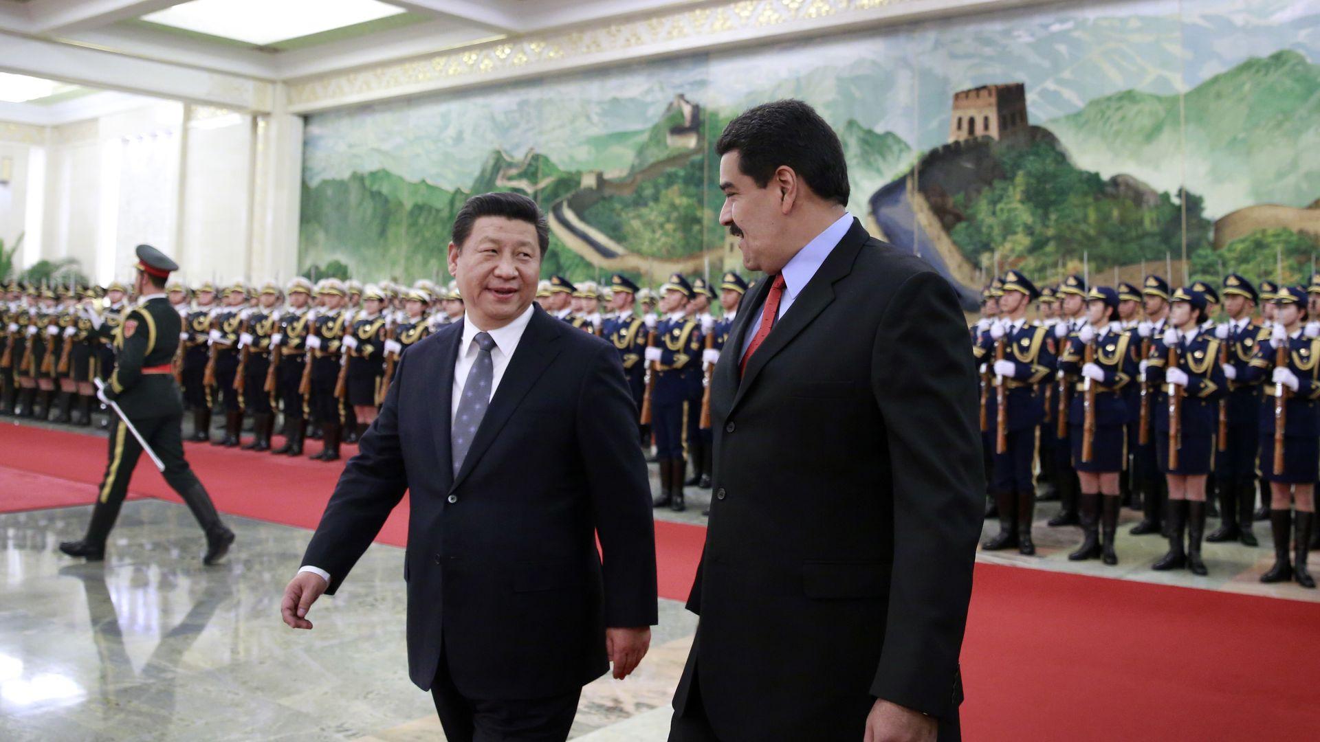 Xi, Maduro