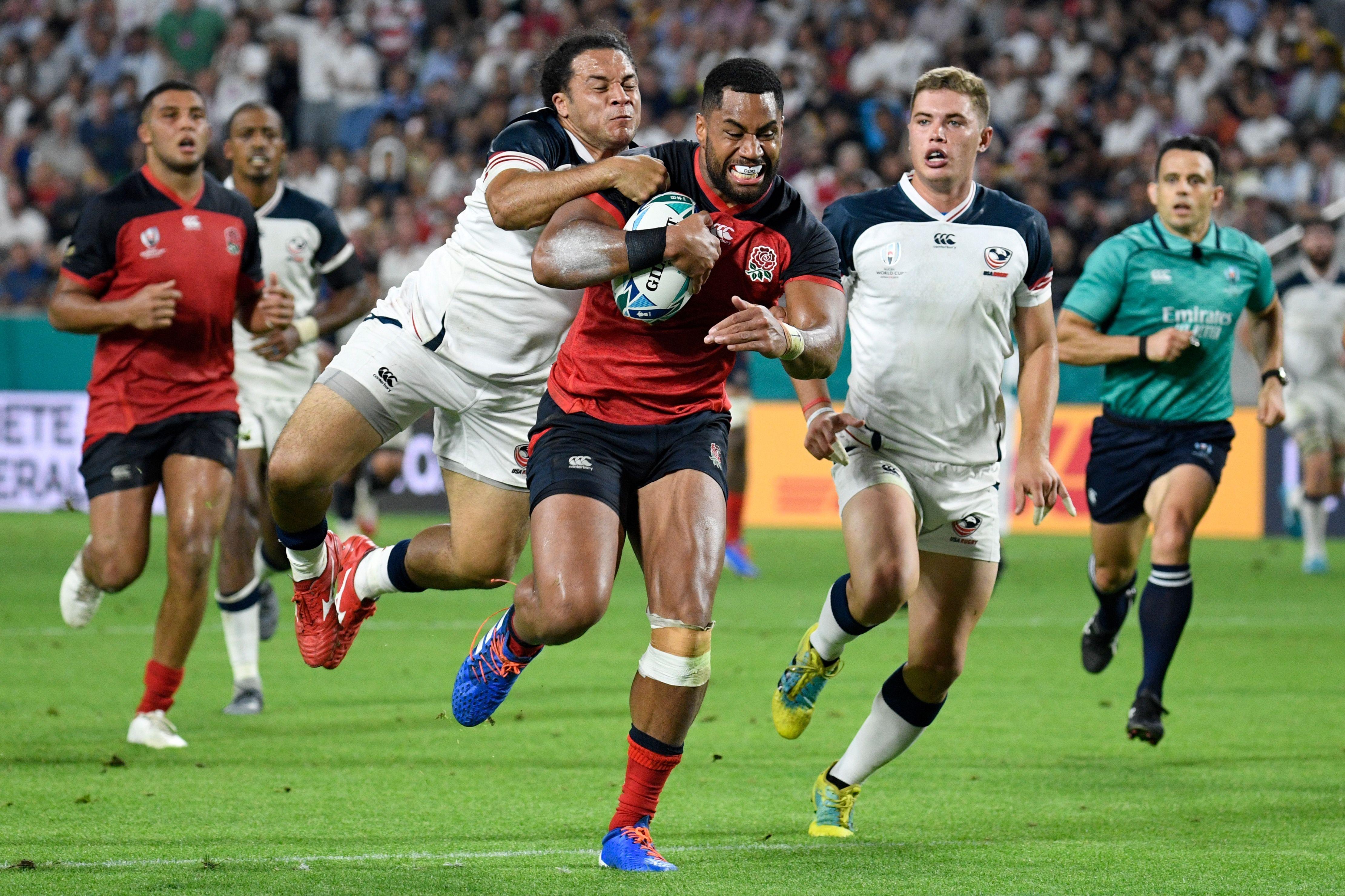 England vs USA rugby