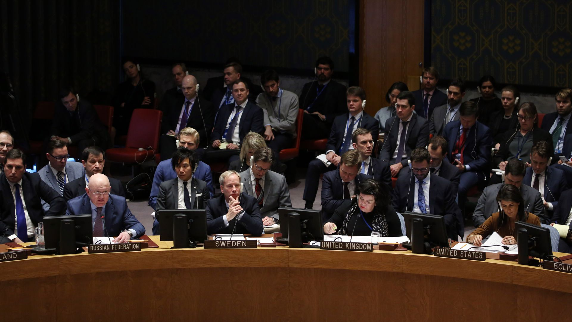 The U.N. Security Council meets over the most recent chemical attack in Syria.