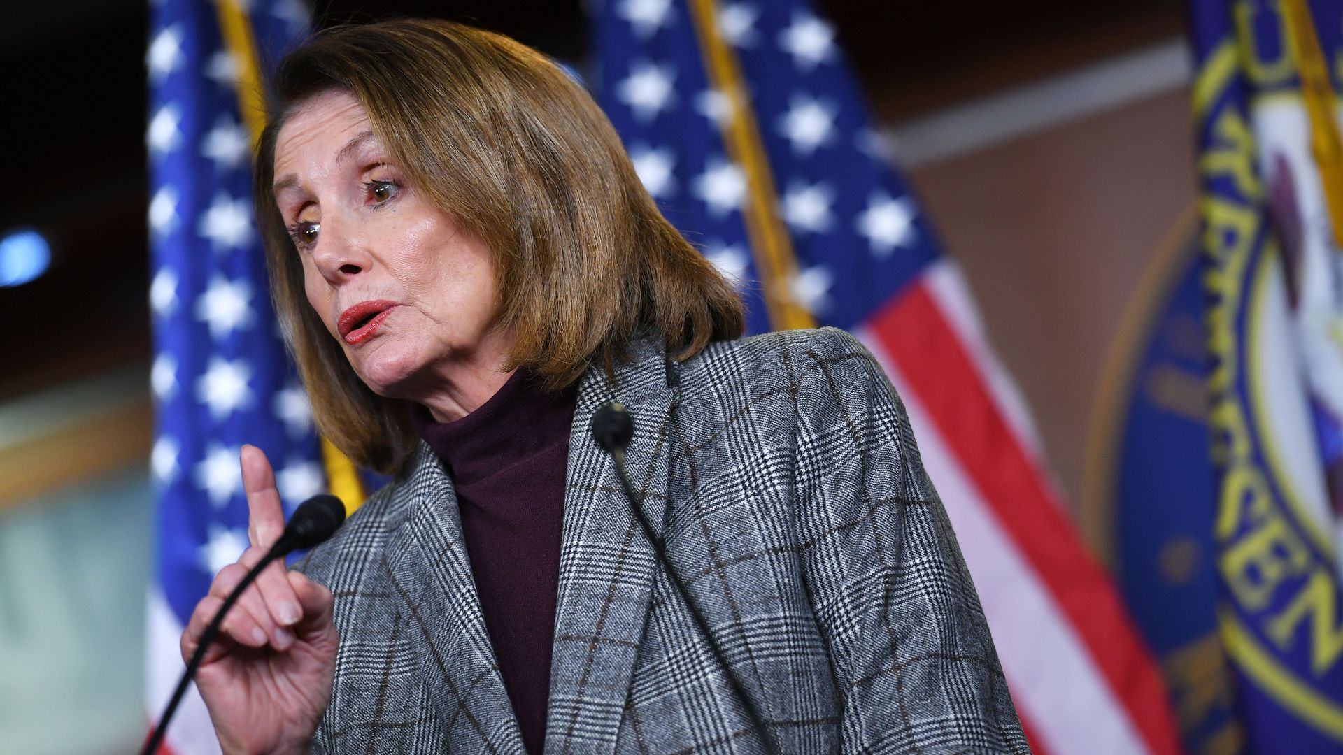 House Speaker Nancy Pelosi (D-Calif.)