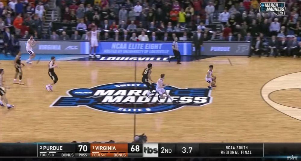 Screenshot of UVA game