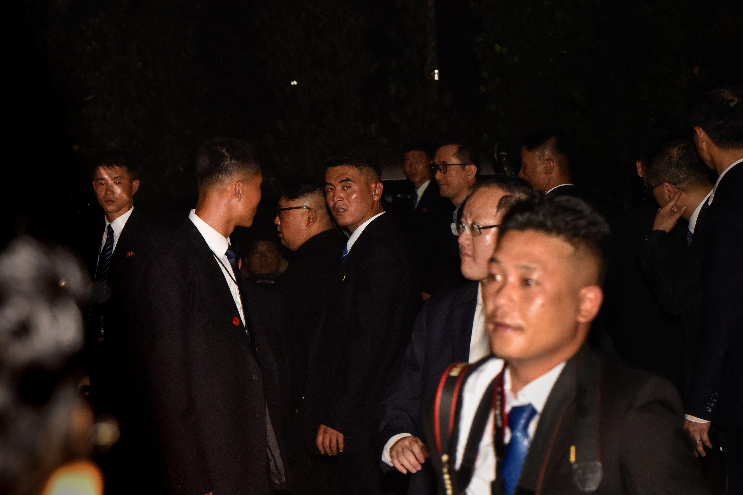 Kim Jong-un exploring Marina bay