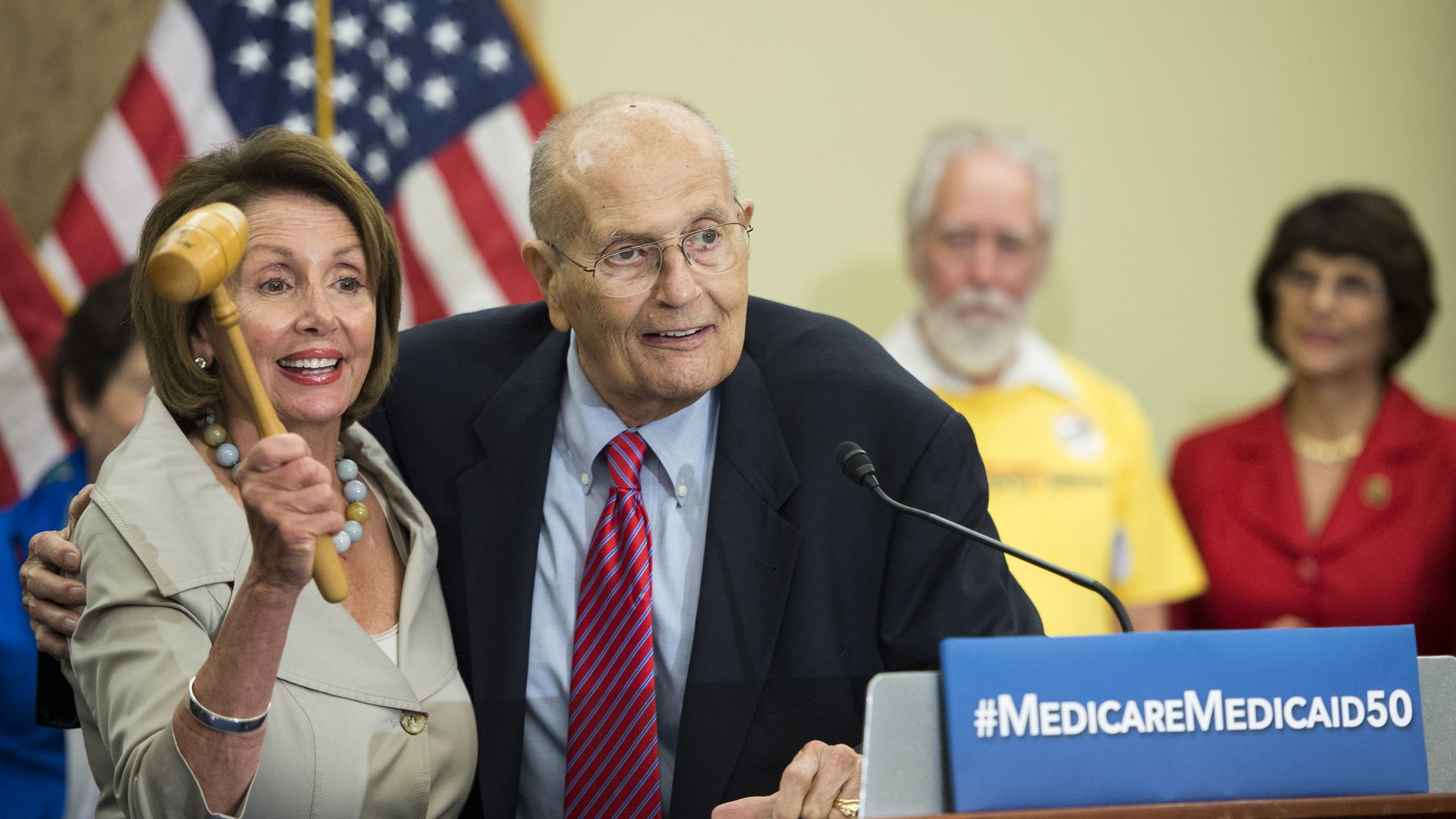John Dingell and Nacny pelosi