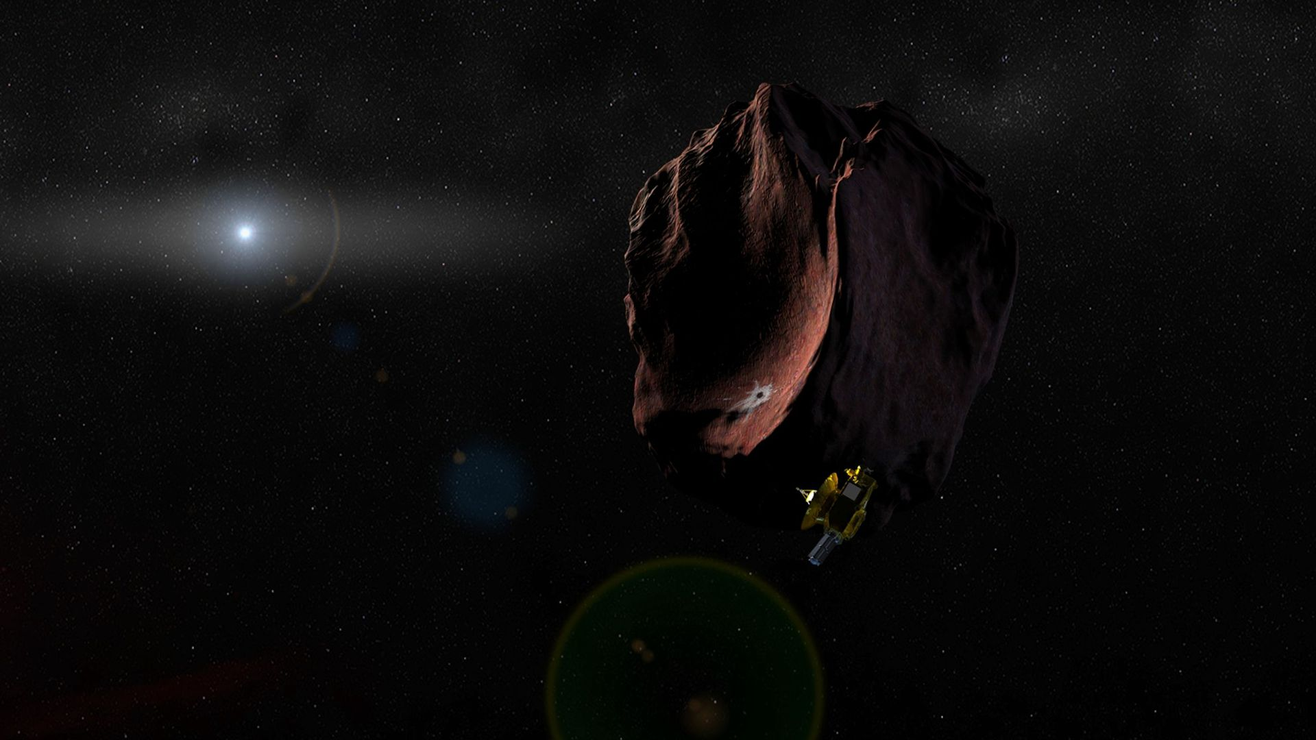 NASA's New Horizons plans a second extended mission, looking to the Kuiper Belt