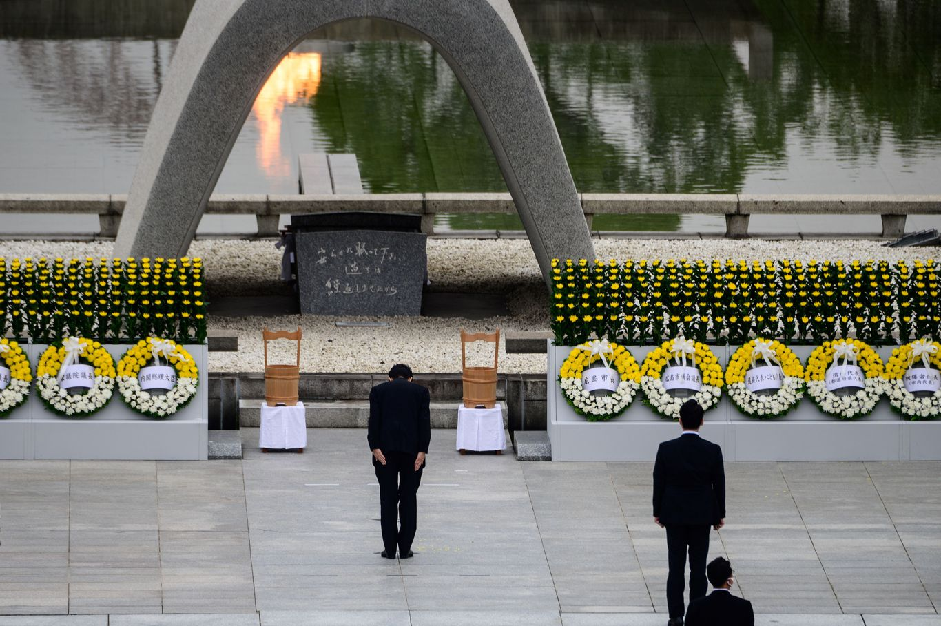 Hiroshima mayor warns of rise of nationalism on 75th anniversary