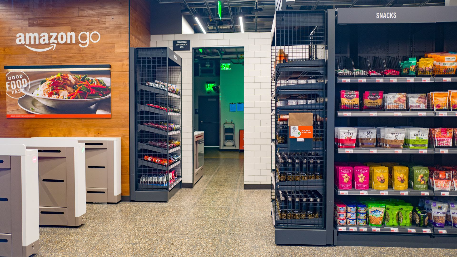 An Amazon Go store