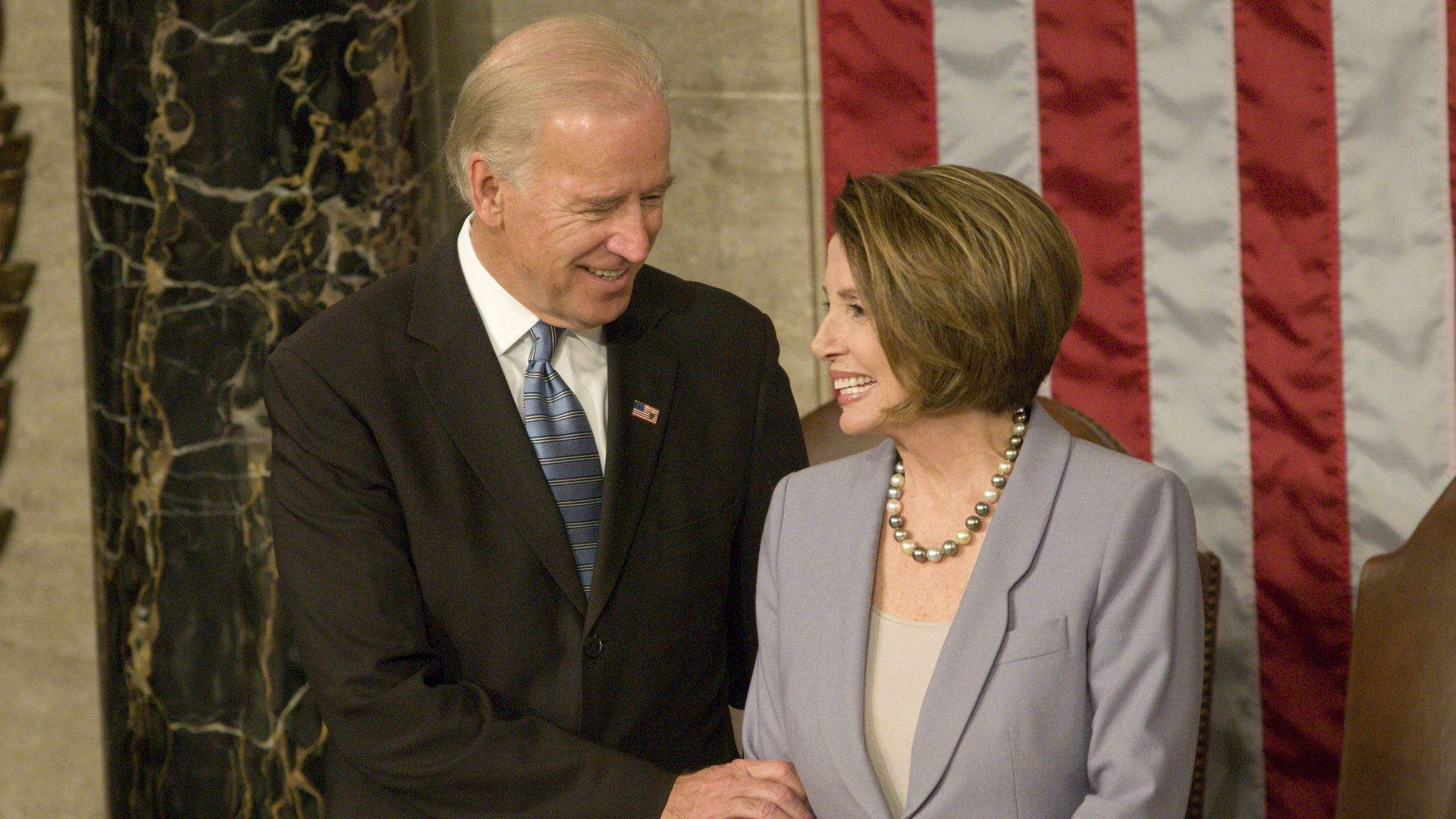 Joe Biden and Nancy Pelosi