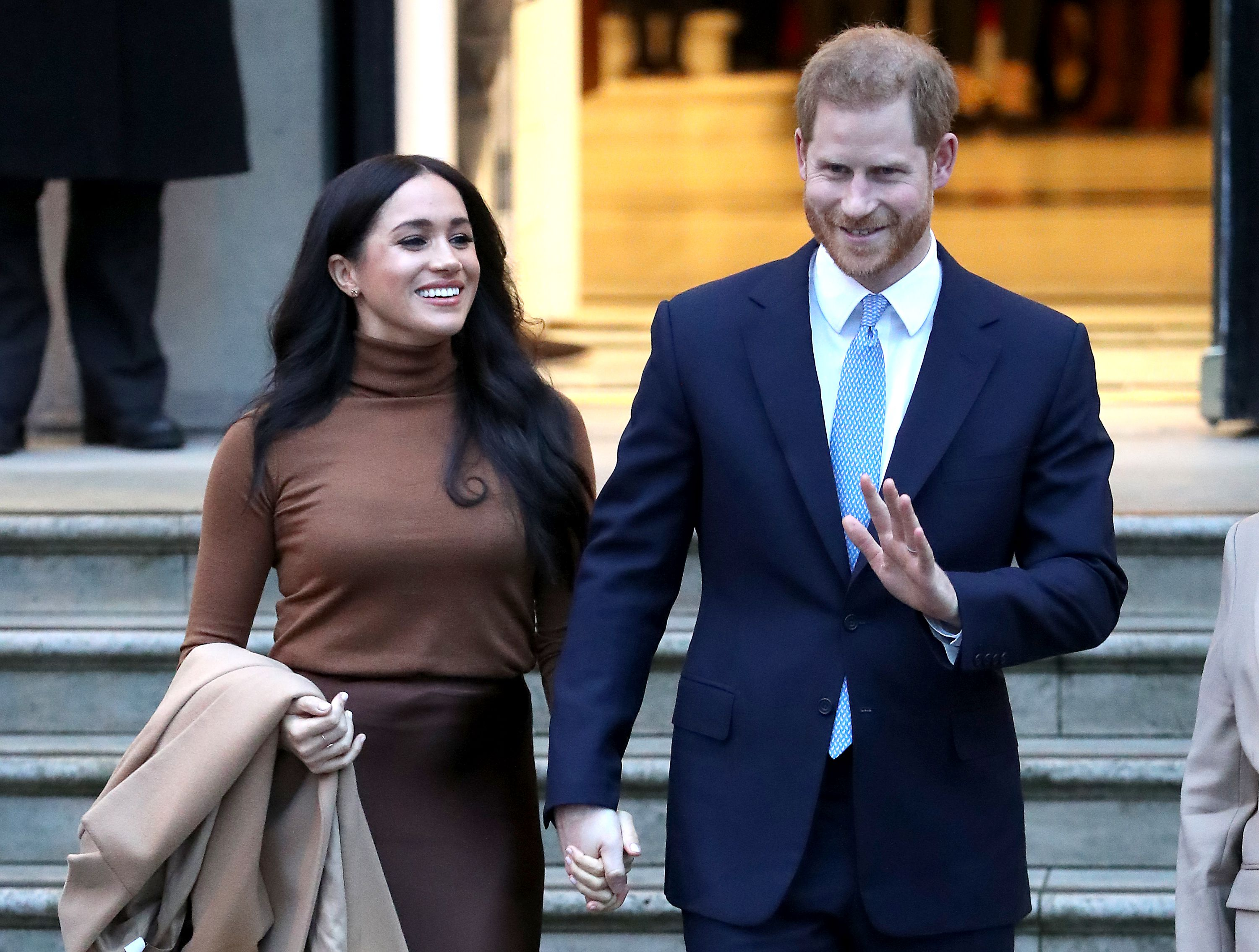 Prince Harry and Meghan Markle make first appearance since royal departure - Axios
