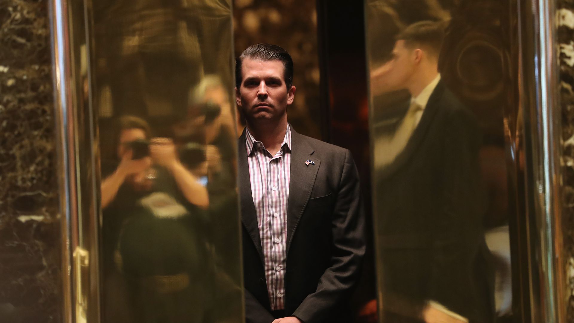 Donald Trump Jr. at Trump Tower