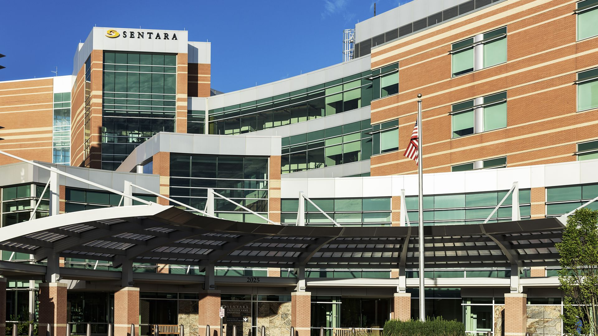 A Sentara Healthcare hospital in Virginia Beach, Virginia.