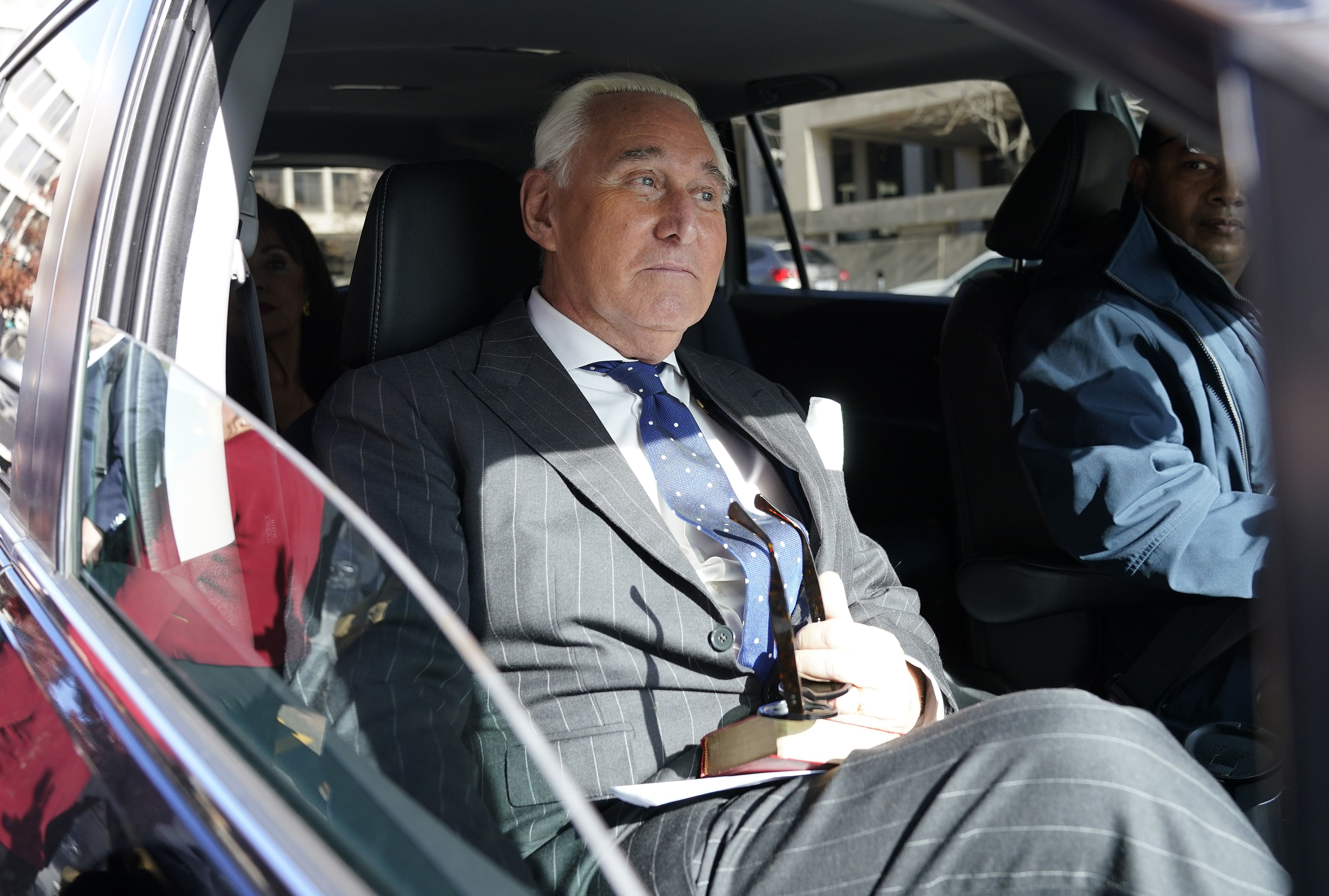 "Judge requests ""scheduling"" conference call ahead of Stone sentencing - Axios"