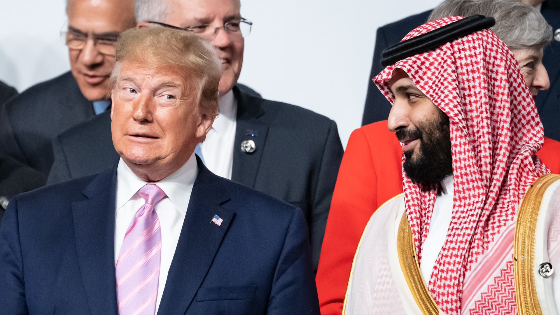 Trump and Mohammed bin Salman