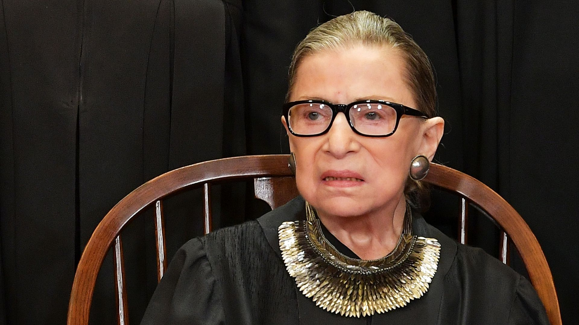 Ruth Bader Ginsburg finishes 3 weeks of radiation therapy