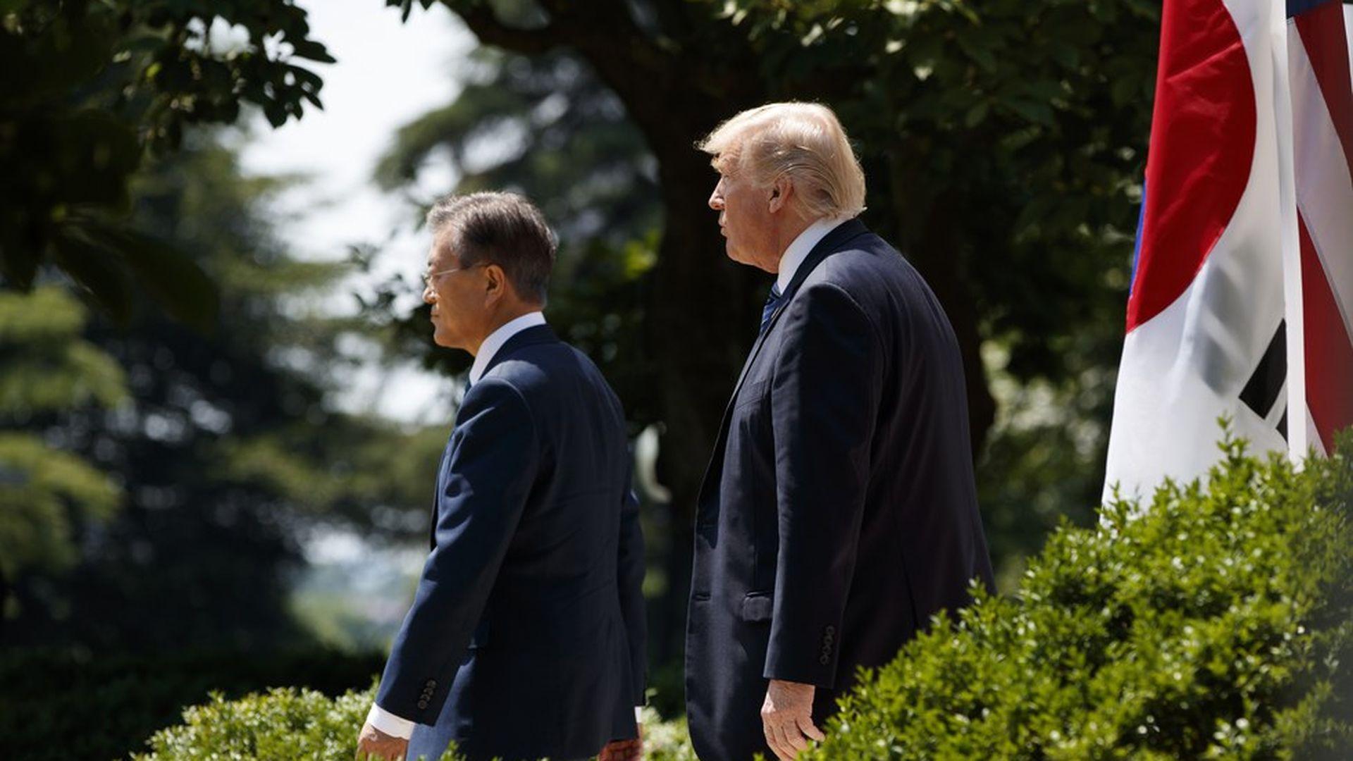 Trump Considering Ending South Korea Trade Pact Axios